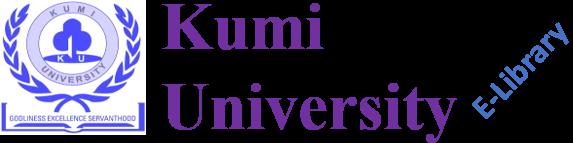 Kumi University E-Library